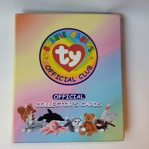 ty Beanie Babies Collectors Cards Rare LOT